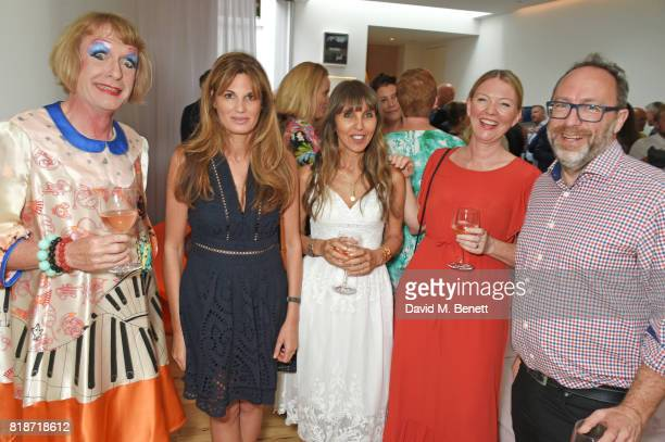 Grayson Perry Jemima Khan Henrietta Conrad and guests attend the Mayor of London's Summer Culture Reception on July 18 2017 in London England
