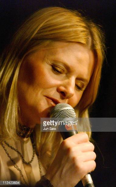 Grazyna Auguscik during Fujitsu Jazz Elite 2004 Three For Brazil Perform Live June 14 2004 at Bar Queen in Iwaki Japan