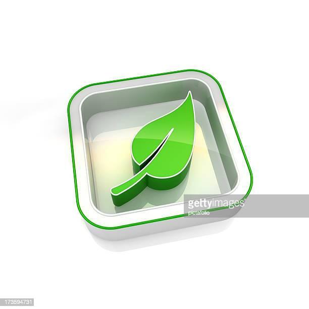 Grean Blatt-Symbol