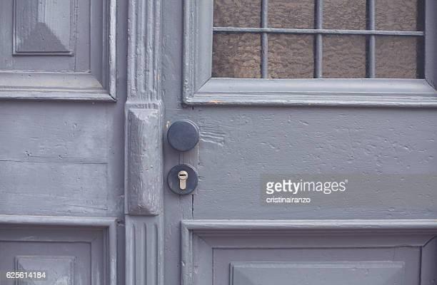 Grease door