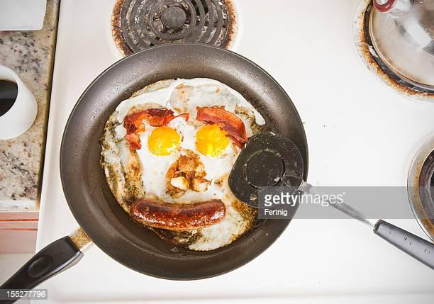 Greasy breakfast