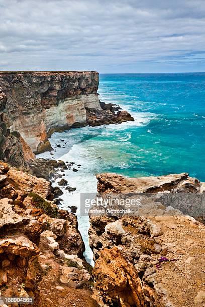 Great Australian Bight coastal cliff