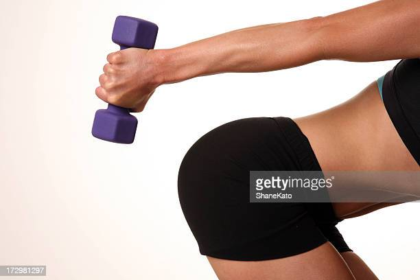 Great body with fitness and weight training