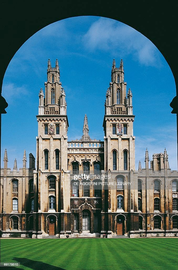 Great Britain England Oxford All Souls College