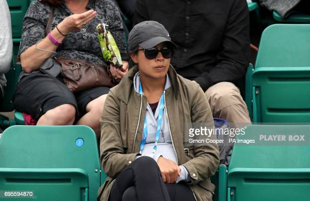 Great Britain Fed Cup captain Anne Keothavong during day two of the AEGON Open Nottingham at Nottingham Tennis Centre PRESS ASSOCIATION Photo Picture...