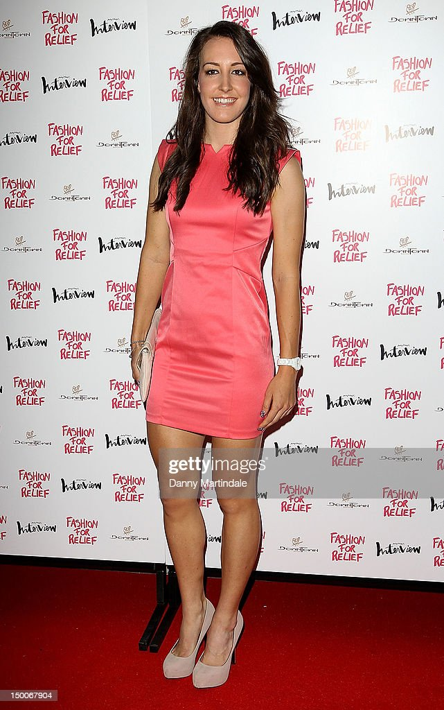 Great Britain Olympic gold medal cyclist Danielle 'Dani' King attend an olympic celebration dinner hosted by Naomi Campbell in partnership with Fashion For Relief at London's Downtown Mayfair on August 9, 2012 in London, England.