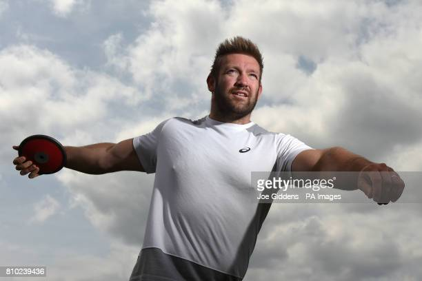 Great Britain's Dan Greaves during the media day at the Paula Radcliffe Stadium Loughborough University