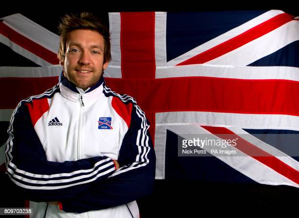 Great Britain's Dan Greaves during the photocall at the Velodrome in the Olympic Park London