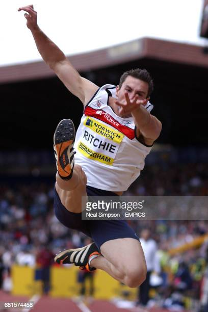 Great Britain's Darren Ritchie in action