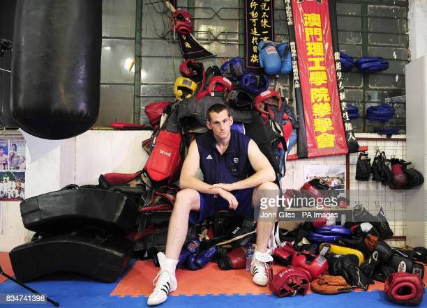 Great Britain's David Price at the Fighting Arts Club Macau China