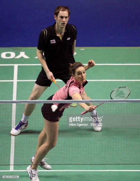 Great Britain's Emma Mason and Andrew Ellis