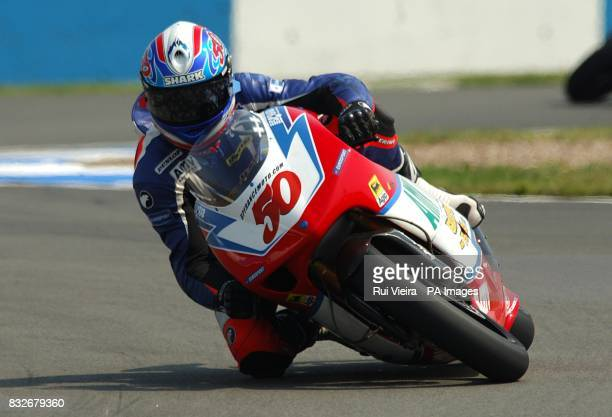 Great Britain's Eugene Laverty during the 250cc race