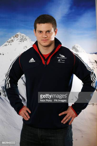 Great Britain's GB2 Bobsleigh team member Craig Pickering during the kitting out session at the adidas Centre Stockport PRESS ASSOCIATION Photo Issue...