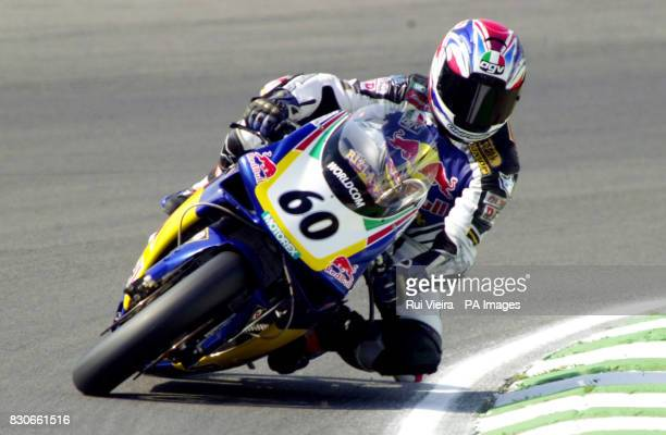 Great Britain's John Reynolds during qualifying practice for the Superbike World Championship at Brands Hatch Kent
