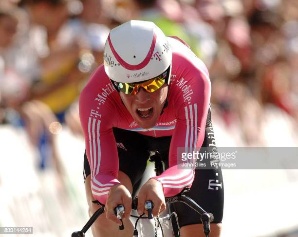 Great Britain's Mark Cavendish during the Tour de France Individual TimeTrail in London