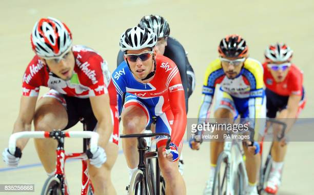 Great Britain's Mark Cavendish in the Scratch Race where he finished out of the medals during the 2009 UCI World Track Cycling Championships at the...