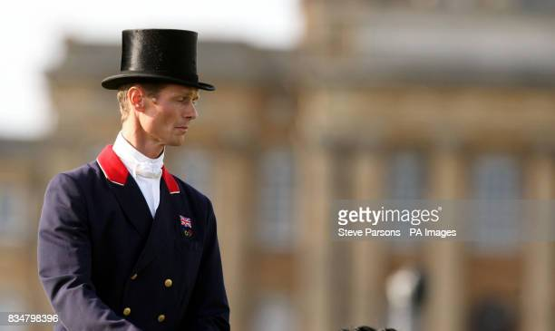 Great Britain's William FoxPitt rides Kaleidoscope in the first day of Dressage during the Blenheim International Horse Trials Blenheim Palace...