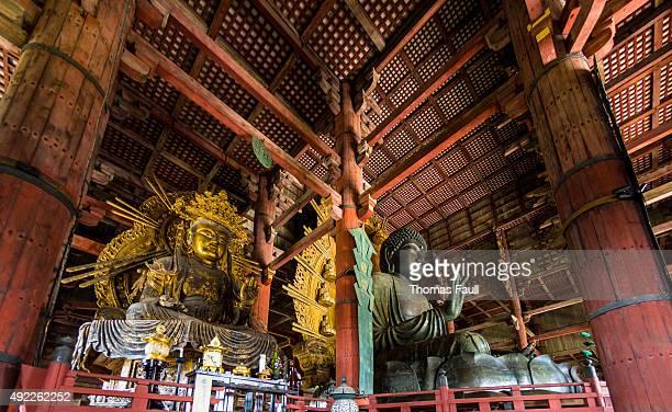 Great Buddha and kokuzo bodhisattva