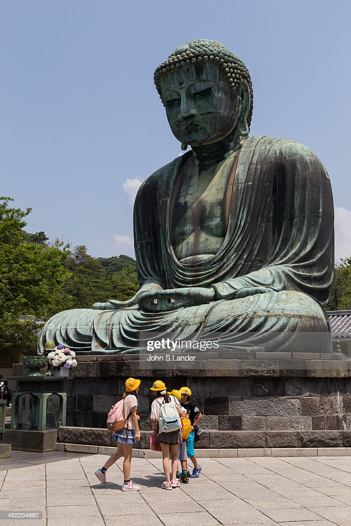 Great Buddha of Kamakura a monumental bronze statue of Buddha was built in 1252 The bronze image was cast by Ono Goroemon who was a leading maker at...