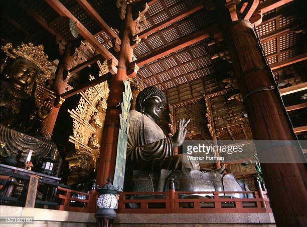 Great Buddha Todaiji temple Japan Japanese 745752 AD Nara