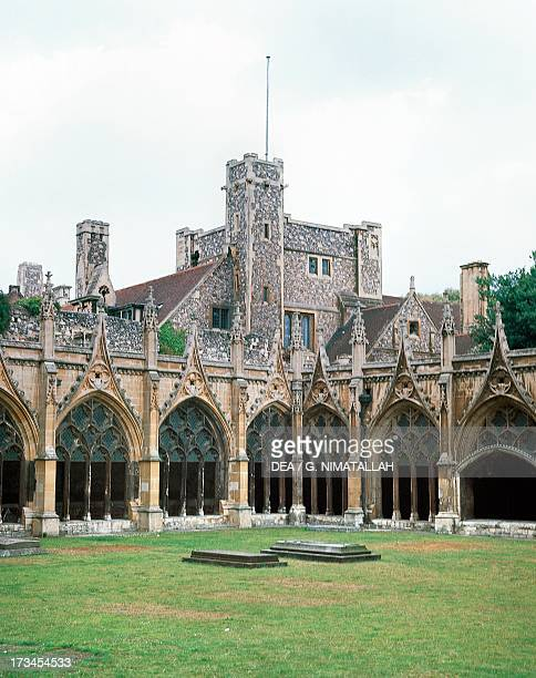 Great Cloister Canterbury Cathedral Canterbury England United Kingdom