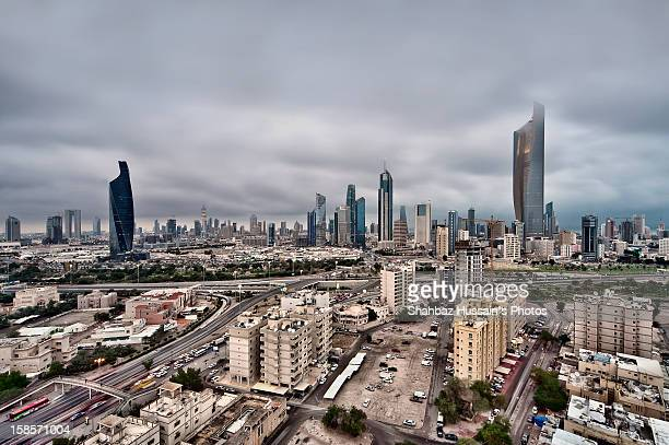 Great Clouds at Kuwait City