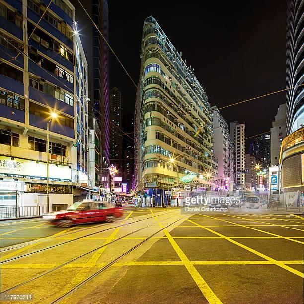 Great crossing in Wan Chai, Hong Kong