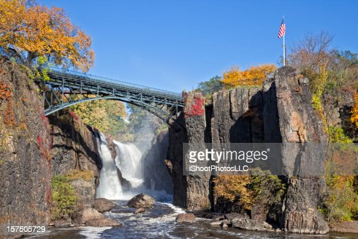 Great Falls in Paterson New Jersey