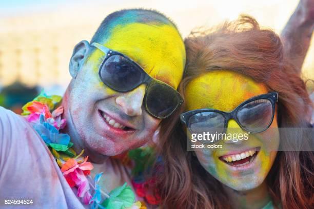 grande fête en couleurs