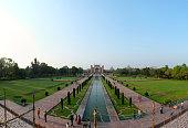 Great Gate of Taj Mahal in Agra, India