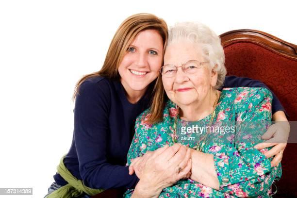 Great Grandma and her GrandDaughter   XXL