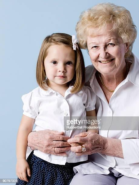 曾祖母と曾孫娘