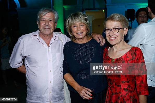 Great grandson of Cezanne Philippe Cezanne director of the movie Daniele Thompson and Grand daughter of Emile Zola Martine Le BlondZola attend the...