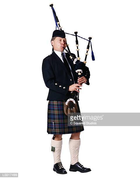 Great Highlander Bagpiper