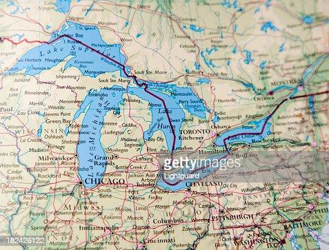 great lakes área