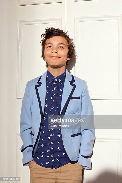 Great looking mixed-race 9 year old boy