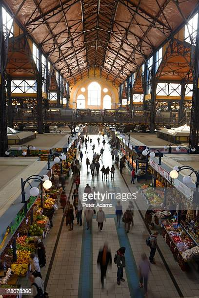 Great Market Hall, built 19th century, Budapest, Hungary