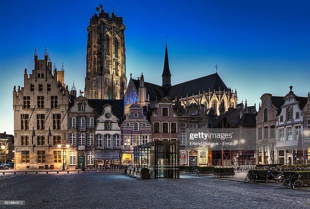 Great Market Place Mechelen, Belgium
