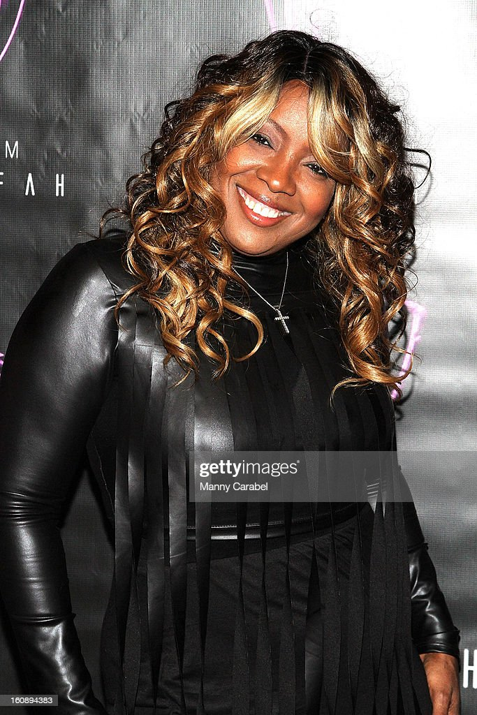 R&B great Meli'sa Morgan attends Monifah's 'In Her Skin' Showcase at Katra Lounge on February 6, 2013 in New York City.