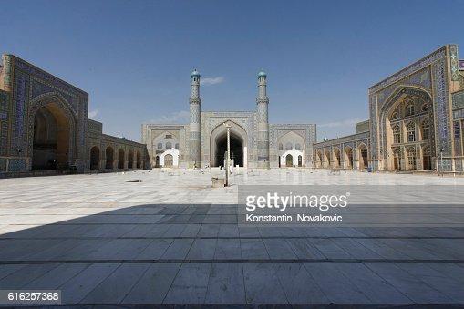 Great Mosque in Herat, Afghanistan : Foto de stock