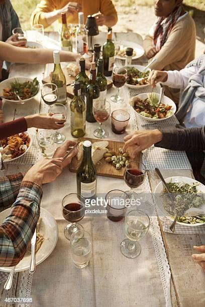 Great outdoor meals