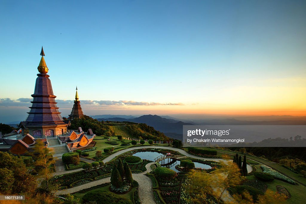 Great Pagoda of Doi Inthanon