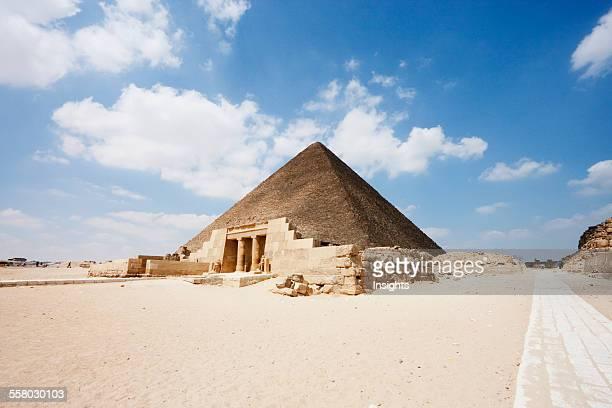 Great Pyramid Of Khufu Giza Al Jizah Egypt