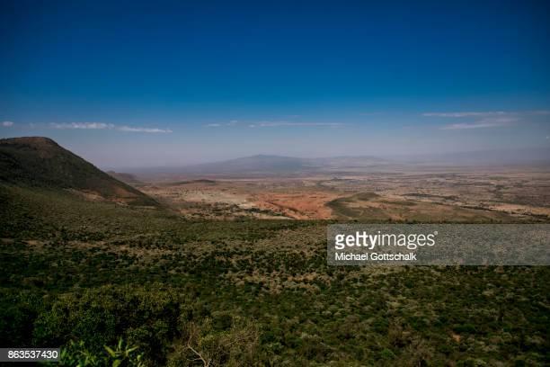 Great Rift Valley View Point next to Nairobi on October 08 2017 in Nairobi Kenya