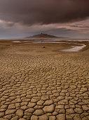 Great Salt Lake, Utah; 'Desiccated'