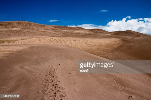 Great Sand Dunes National Park and Preserve, Colorado : Stock Photo