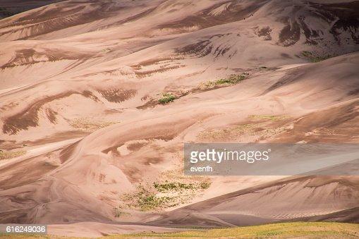 Parque nacional grandes dunas de arena y preservar, Colorado : Foto de stock