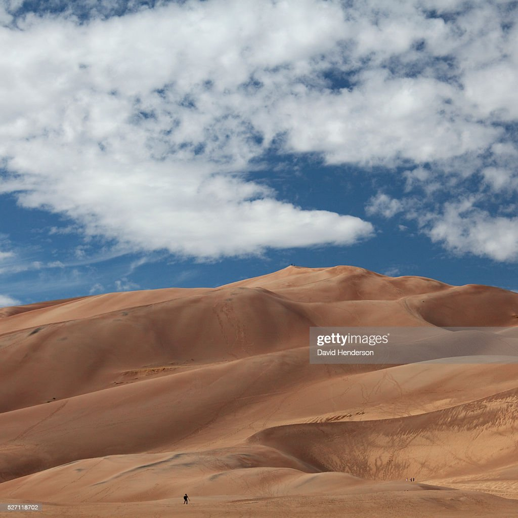 Great Sand Dunes : Stock-Foto