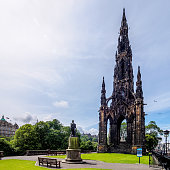The Scott Monument is a Victorian Gothic monument to Scottish author Sir Walter Scott. It is the largest monument to a writer in the world.