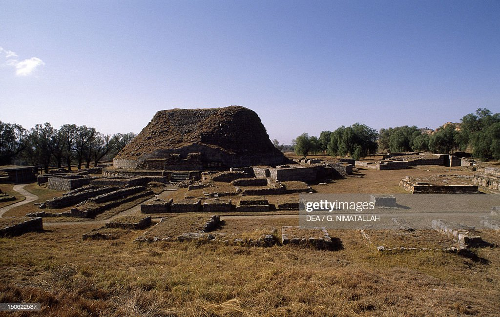 Great stupa in Taxila Pakistan Indus civilization 3rd century BC